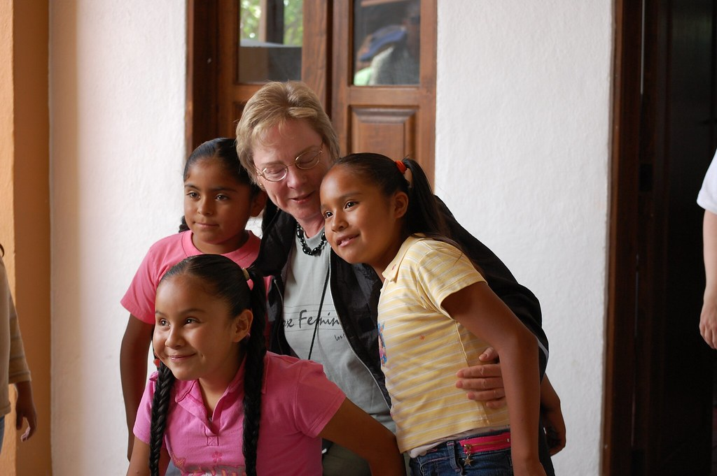 Vox Femina Los Angeles at the Casa Hogar Santa Julia Orphanage in San Miguel de Allende