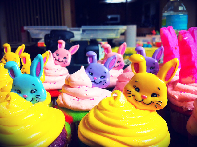 Bunny cakes!