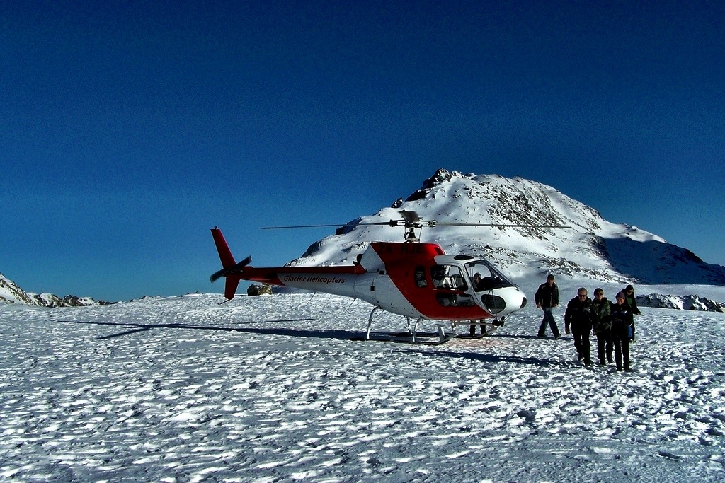 New Zealand helicopter