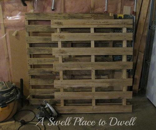 Pallets in Garage ASPTD