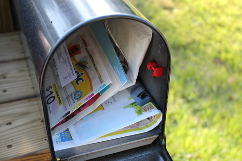 5:51 PM: Gettin' my mail