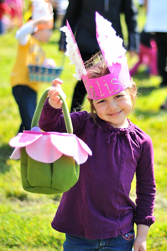 egg hunt @ preschool