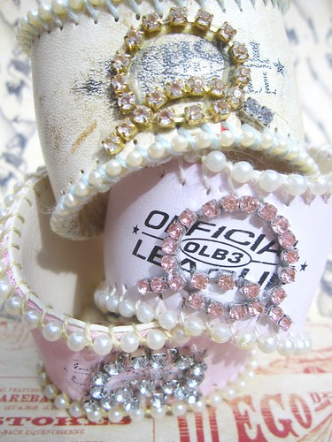 Custom Shabby Baseball Cuffs! 11