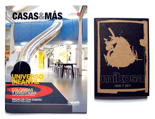 Featured : Casas&Mas + Mikosa Archive Book.