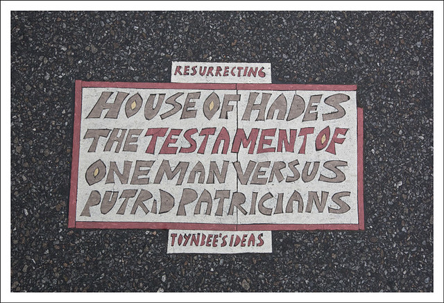 Toynbee Tile 5th Avenue and 86th Street NYC