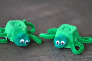 Turtle Egg Cartons Craft