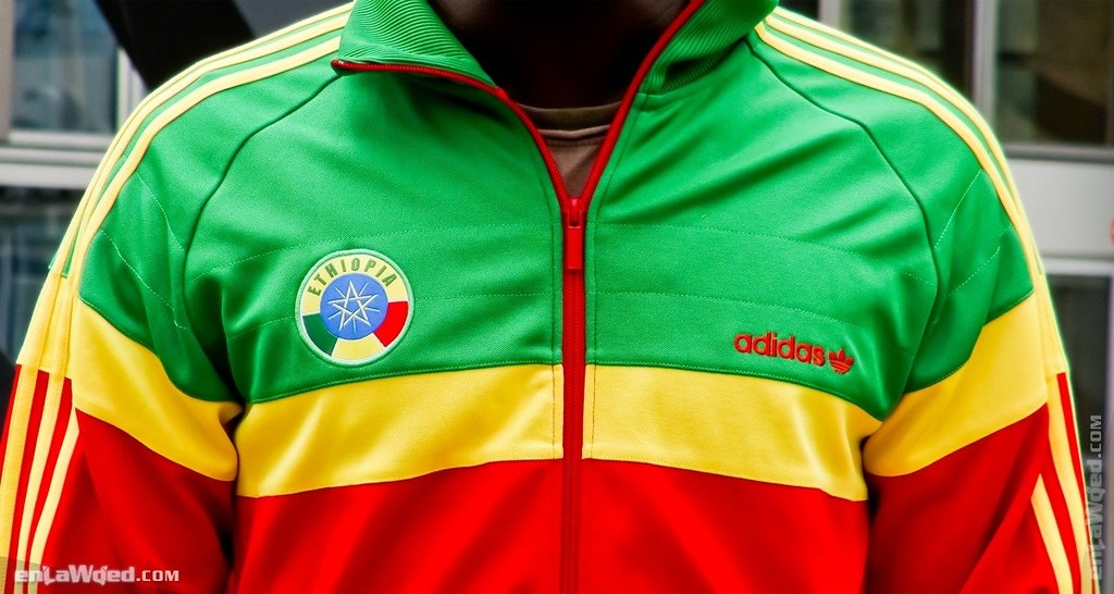 The Great Adidas Originals Ethiopia Track Top by EnLawded