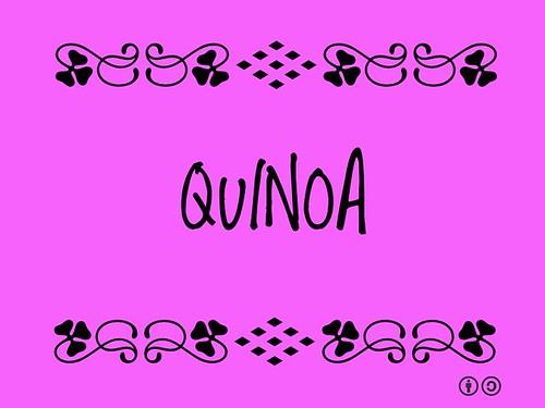 Buzzword Bingo: Quinoa