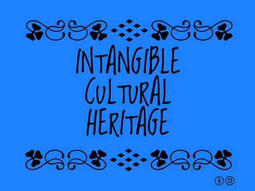 Buzzword Bingo: Intangible Heritage is constantly recreated by communities and groups in response to their environment