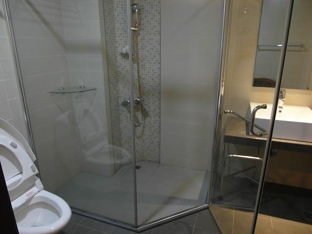 四季台安醫院月子中心,乾濕分離的衛浴