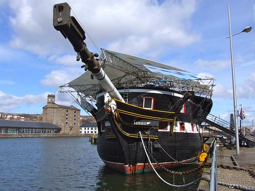 HM Frigate Unicorn Dundee