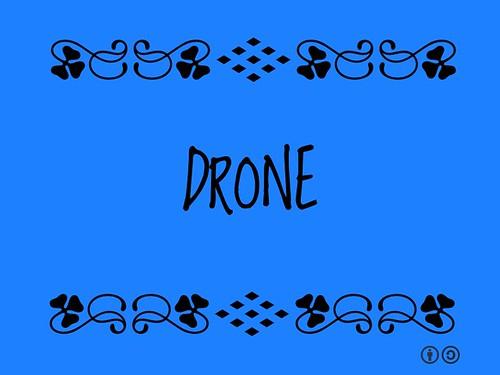 Buzzword Bingo: Drone