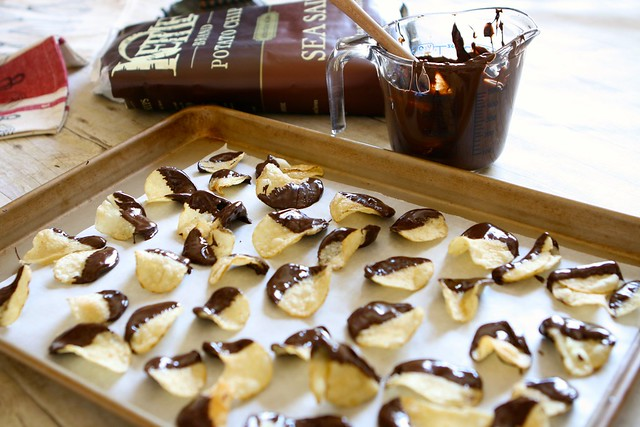 Chocolate Covered Potato Chips 002