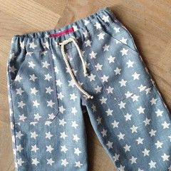 Starry pants - front