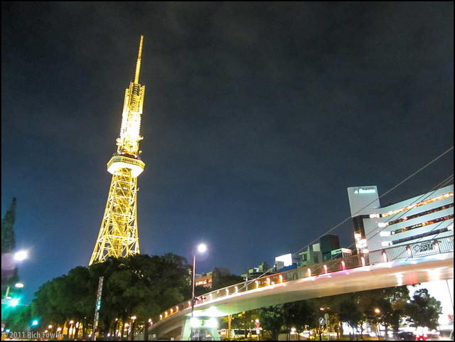Nagoya Tower at Night
