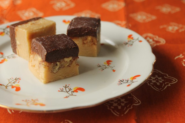 Irish Cream Fudge with Guinness Ganache Recipe