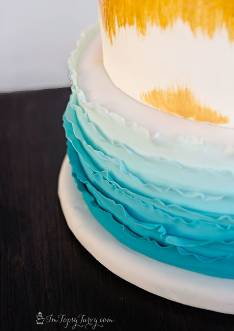 ombre-ruffled-birthday-cake