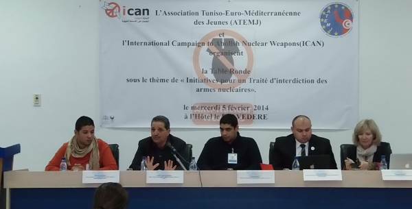 Tunisian Activists Urge Government to Support Nuclear Weapons Ban