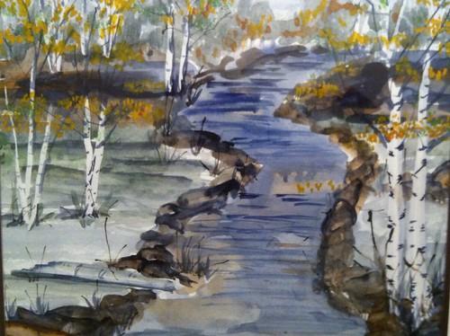 Birch Tree Stream