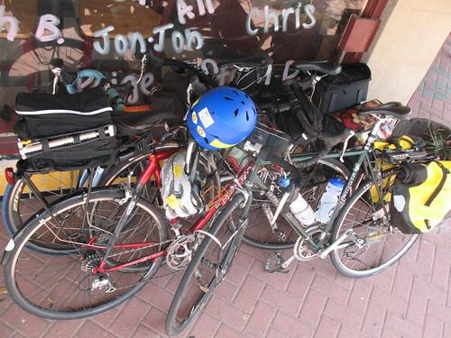 Bike pile