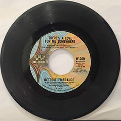 DETROIT EMERALDS:FEEL THE NEED IN ME(RECORD SIDE-B)
