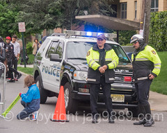 Fort Lee Police Officers, Gran Fondo New York 2016 Bike Race, Fort Lee, New Jersey
