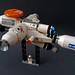 "Mars Mission starfighter concept ""Lil' Lisa's Revenge"" by Shannon Ocean"