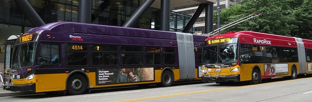 King County Metro 2015 New Flyer XT60 4514