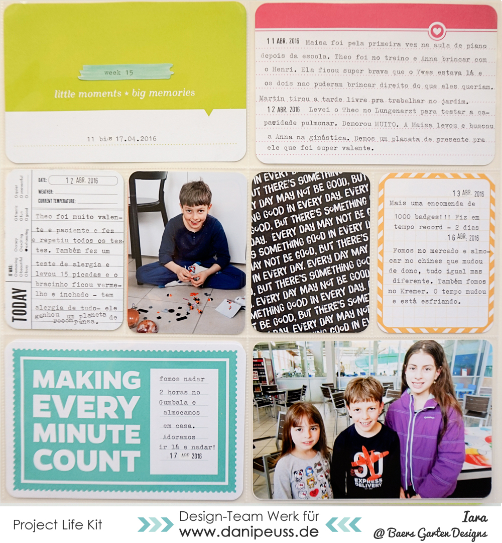 Project Life March 2016