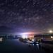 Star rain above Sun Moon Lake 明潭星雨 by Vincent_Ting