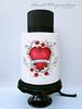 Rockabilly heart cake Double barrel extended