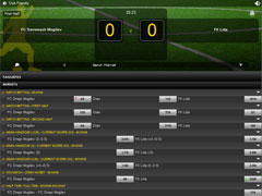 Betvictor Football Live Odds