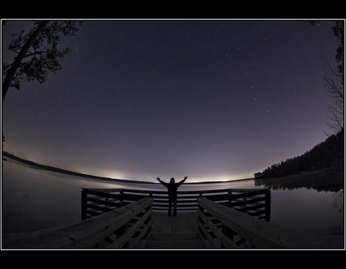 sky lake night stars star nc heaven nightscape space northcarolina astro astrophotography astronomy nightsky heavens constellations starry starlight jordanlake paulmalcolm fiddleflix starsinnightsky
