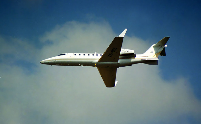 Learjet 45 ZS-OIZ