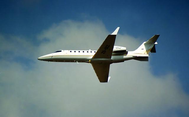 Learjet 45 ZS-OIZ