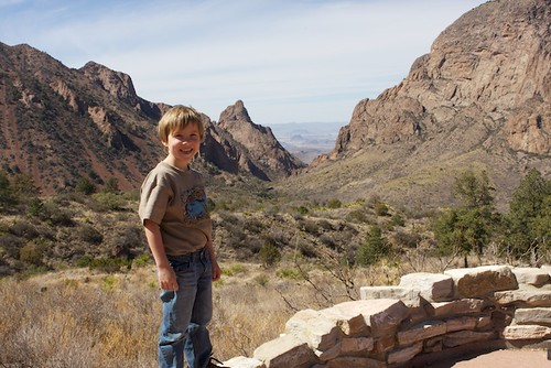 G'tums (age 6) in Big Bend