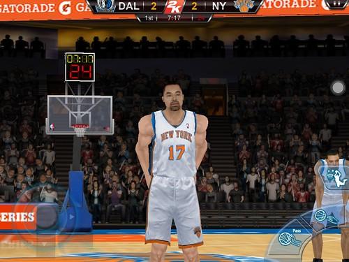 iPad NBA2K12 LIN