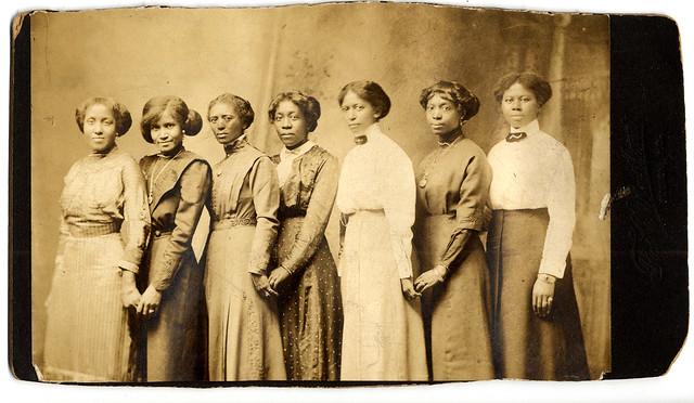 Group Portrait of African American Women (MSA)