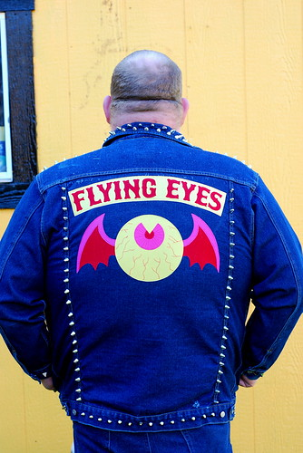 Flying Eyes jacket