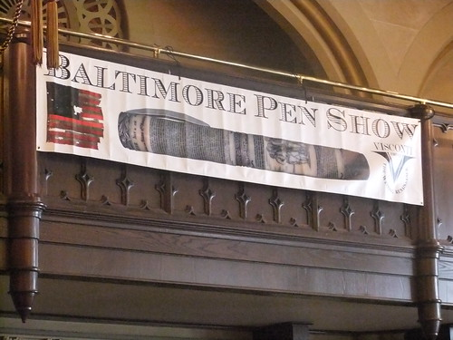 Baltimore Pen Show Banner