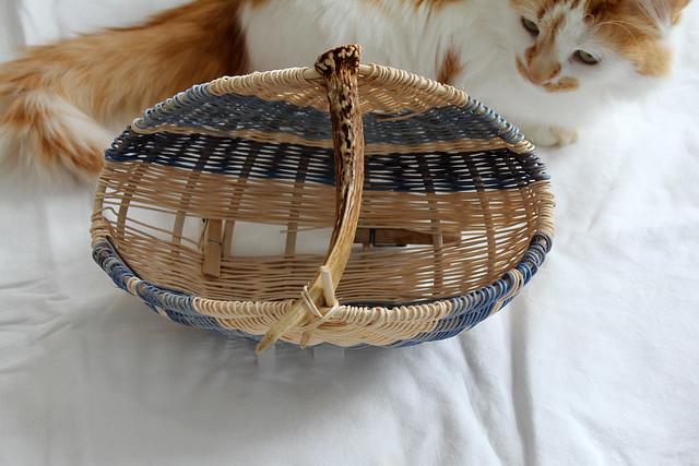 kin + antler basket weaving