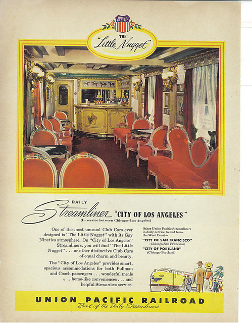 Union Pacific City of Los Angeles ad