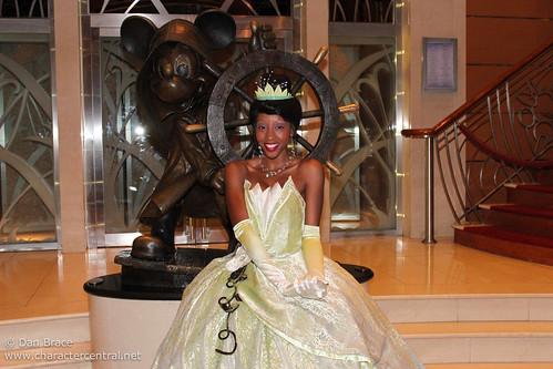 Meeting Princess Tiana