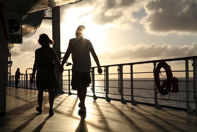 Romance on the seas!