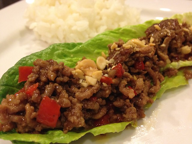 Spicy Beef Lettuc Cups
