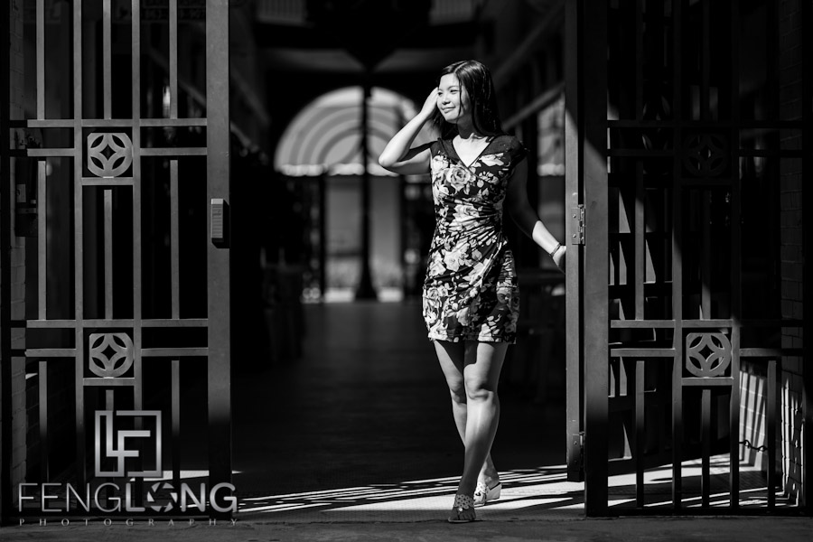 Waiting... | Fion & Tomomi Photoshoot | Downtown Lake Wales, FL | Atlanta Destination Portrait Photographer