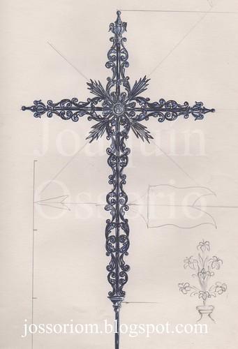 Primer boceto para la Cruz de la Espadaña del Cachorro. by jossoriom