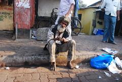 The Beggar Bawa of Bandra Reclamation Shot By Marziya Shakir 4 Year Old by firoze shakir photographerno1