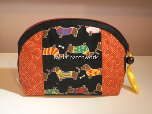 Necessaire Basset by tania patchwork