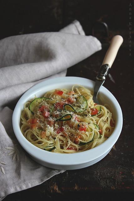 Сaramelised Zucchini Pasta
